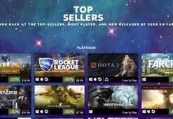 Steam, yılın en çok satan oyunlarını açıkladı