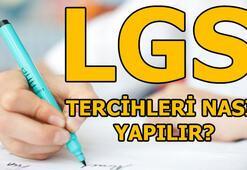 2018 LGS tercih kılavuzu LGS Tercih işlemi nasıl yapılır