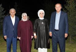 Cumhurbaşkanı Erdoğan ve eşi, Başbakan Yıldırım ve eşini ziyaret etti