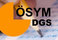 DGS ne zaman DGS giriş yeri belgeleri ne zaman yayınlanır
