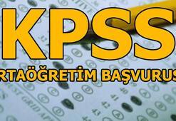 KPSS başvuruları başladı KPSS ortaöğretim başvurusu nasıl yapılır