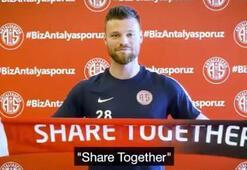 Antalyasporlu futbolculardan EURO 2024 desteği