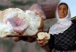 Ekmeğin içerisinden çıktı Kiminse gelsin alsın, taktırmak 2 bin lira