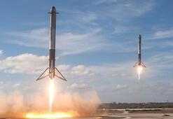 SpaceXin kargo kapsülü uzay istasyonunda
