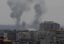 İsrailden Gazze sınırına hava saldırısı