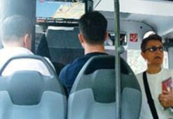 Belediye otobüsünde son teknoloji takip
