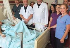 Doktorlar bile şoke oldu Karın ağrısı şikayetiyle hastaneye gitti...