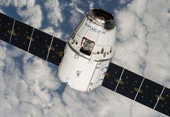 SpaceXin kargo kapsülü uzaya fırlatıldı