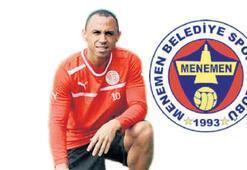 Menemen Belediyespor golcüsünü buldu