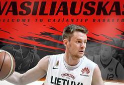 Sarunas Vasiliauskas Gaziantep Basketbolda
