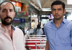 Atatürk Havalimanında onları tanıyanlar kahraman diye sesleniyor