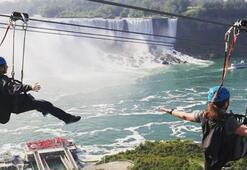 Niagara Şelalelerinde tehlikeli romantizm