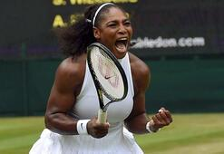 Serena Williams, Wimbledonda seribaşı