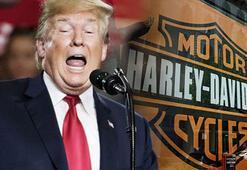Trumptan Harley Davidsona tehdit: Yurt dışına giderlerse sonun başlangıcı olur