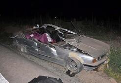 Genç kız düğününe bir hafta kala kazada öldü