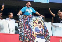 Maradona şov yaptı