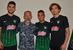 Denizlispor 3 futbolcuya kanca attı