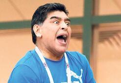 Maradonadan özel mesaj