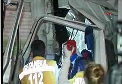 Flaş Dizi ekibi kaza yaptı