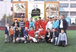 Mazhar Zorlu Turnuvası'nda ödül töreni