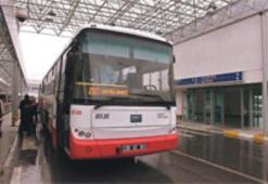 Havalimanı otobüsleri saat başında kalkacak