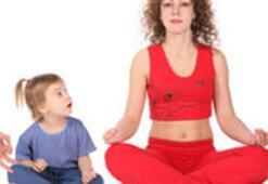 Daha huzurlu bebekler için yoga