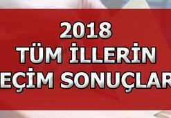 Ordu, Giresun, Tokat seçim sonuçları belli oluyor 2018 Cumhurbaşkanlığı ve Milletvekili seçim sonuçları