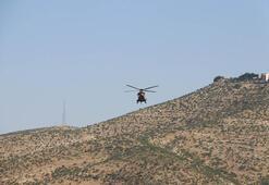 Oy pusulaları askeri helikopterle taşındı