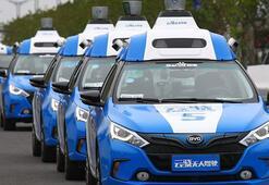 Baidu sürücüsüz araçlarını otoyolda denedi
