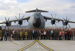 Ve Kayseriye indi TSKnın altıncı uçan kalesi dün teslim edildi
