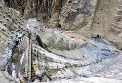 Dünyanın en yüksek 3. barajında kazı çalışmaları tamamlandı