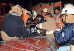 Kamyon 8 araca çarptı: 4 ölü, 14 yaralı