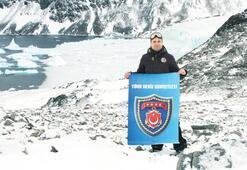 Antarktika'da ilk Türk askeri