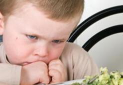 Eyvah çocuğum hiçbir şey yemiyor