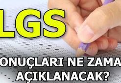 LGS sonuç tarihi açıklandı LGS sonuçları ne zaman açıklanıyor