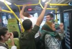 Minibüs şoförüyle yolcu tartıştı, diğer yolcular kahkahalara boğuldu