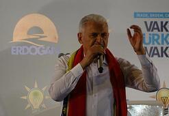 Başbakan Yıldırım İzmirde konuştu