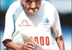 98 yaşındaki rekortmen  atlet hayatını kaybetti