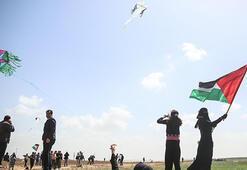 İsrailde uçurtma uçuranları vurma tartışması