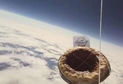 Öğrenciler tarafından uzaya gönderilen puding kayboldu