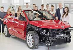 23 öğrencinin tasarladığı otomobil: Skoda Sunroq