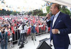 Dışişleri Bakanı Çavuşoğlu: Muharrem'in gözü başka yerde
