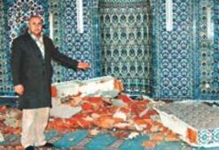 Simav'da deprem korkuttu