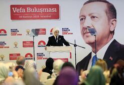 Emine Erdoğan, Vefa Buluşmasına katıldı