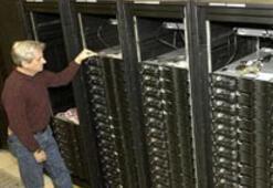 Süper bilgisayar Sequoia 2012'de kullanımda