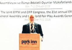Avrupa Fair Play Büyük Ödülü Avni Erboy'un