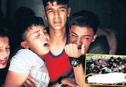 İsrail'den 'yanan uçurtma' saldırısı