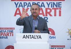 Bakan Çavuşoğlu: Türkiyeyi engellemek için her türlü şer ittifakını kurdular