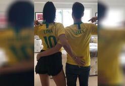 Adriana Lima'dan Brezilya formalı paylaşım