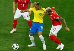 Brezilya - İsviçre: 1-1